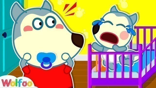 'Wolfoo Pretends to be A Parent - Funny Stories for Kids #2   Wolfoo Family Kids Cartoon'