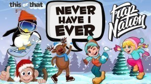 "'""Never Have I Ever...\"" (Winter Holiday Workout For Kids)'"