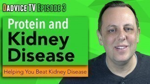 'Protein And Kidney Disease: Does protein cause kidney damage and is plant protein safer'