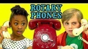 'KIDS REACT TO ROTARY PHONES'