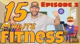 "'\""15 Minute Fitness\"" Kids Workout #2 (Online PE w/ Coach Meger)'"