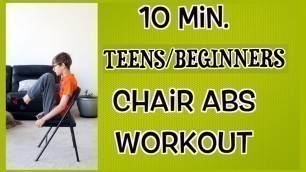 'Exercise for kids - workout at home for kids/teens ABS for kids