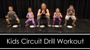 'Kids Circuit: Drill Workout (FUN WORKOUT FOR KIDS AT HOME)'