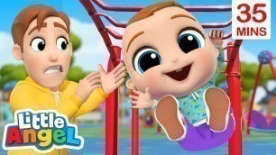 'Play Safe At The Playground + More Little Angel Kids Songs & Nursery Rhymes'