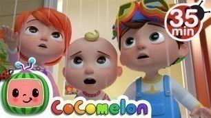'Rain Rain Go Away (Indoors Version) + More Nursery Rhymes & Kids Songs - CoComelon'