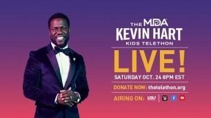 'Kevin Hart Hosts the MDA Kids Telethon'