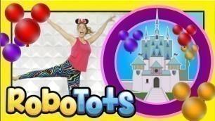 'DISNEY Kids FITNESS RoboTots Kids YouTube FROZEN Disney fans'