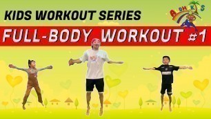 'BEST KIDS WORKOUT | FULL BODY WORKOUT FOR CHILDREN | KIDS FITNESS BY ALOHA KIDS'