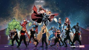 'MOVE LIKE THE AVENGERS | Marvel x Les Mills 5-minute Kids Workout'