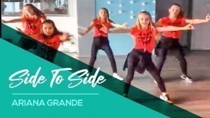 'Side to Side - Ariana Grande - Easy Kids Dance Warming-up - Fitness'