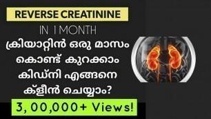 'ഏറ്റവും എളുപ്പത്തിൽ കിഡ്നി വൃത്തിയാകാം  kidney cleansing   latest malayalam health tips  creatinine'