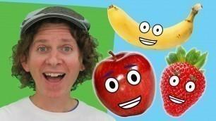 'Yummy Fruit Song   Learn 6 Fruit   Dream English Kids'