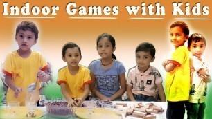 'Indoor Games with kids   Fun Games for kindergarten   Party Games   kids activity   Little Monsters'