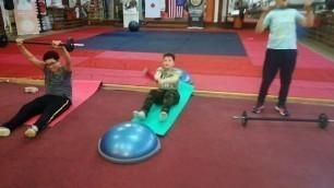 'Life Change Kids - workout - fitness - circuit - nutrition w/ Denisa & Dennis Thomsen'