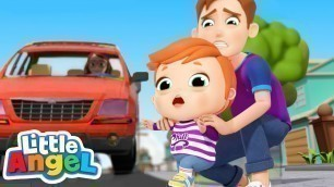 'Watch Out For Danger!   Safety Song   Little Angel Kids Songs & Nursery Rhymes'