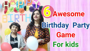 '6 Awesome birthday Game for Kids/Family,Party Game For Kids/Keep Kids Busy At Home/6 Awesome Game'