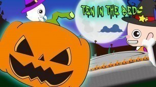 'Ten in the Bed Halloween Pumpkin | Children Nursery Rhyme | Kids Songs | Baby Puff Puff'
