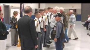 'Fishburne Military School Cadets Help Congressman Goodlatte Honor Vietnam Veterans'