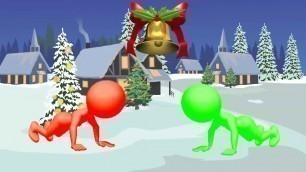 'Brain Break #7 (Christmas), Kids Fitness Workout, Exercise, PE, DPA, Fun Stuff!!'