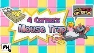 'Four Corners Mouse Trap Challenge | Kids & Family Workout (Updated)'