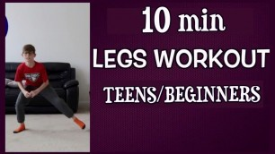 'Legs Workout / Kids workout at home - exercise for Kids/Teens and Adults