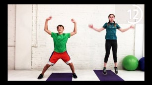 'Teens and Kids 15 Minute Home Workout  Whole Body No Equipment'