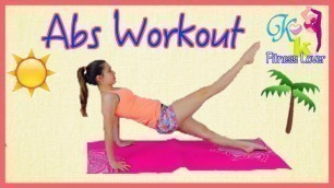 '6 Pack ABS workout for kids and teens'
