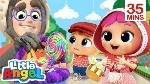 'Little Red Riding Hood | Stranger Danger Song + More Little Angel Kids Songs & Nursery Rhymes'