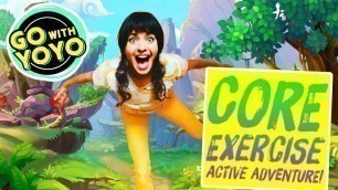 'KIDS CORE WORKOUT! Exercise Adventure!