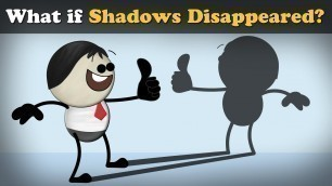 'What if Shadows Disappeared? | #aumsum #kids #science #education #children'