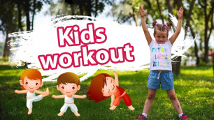 'Morning kids workout: Educational video for kids with Dina'