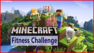 'MINECRAFT workout, Minecraft exercise for kids Minecraft Fitness Challenge for kids workout for kids'