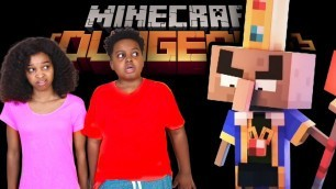 'Minecraft Dungeons Birthday Party In Real Life! - Shiloh and Shasha - Onyx Kids'