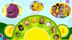 PBS Kids Shows Names 2000's  Play-a-Sound Wheel